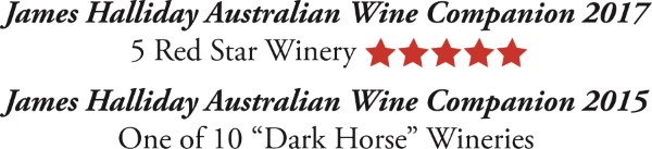 Steve Wiblins Erin Eyes Wines James Halliday Awards