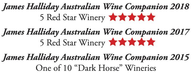 Steve Wiblins Erin Eyes Wines James Halliday Australian Wines Companion Awards