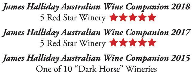 Steve Wiblins Erin Eyes Wines James Halliday Australian Wines Companion Awards